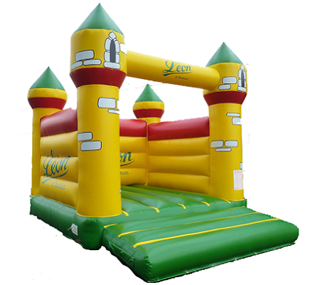 Medium inflatable castle