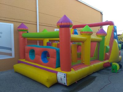 Pista americana inflable