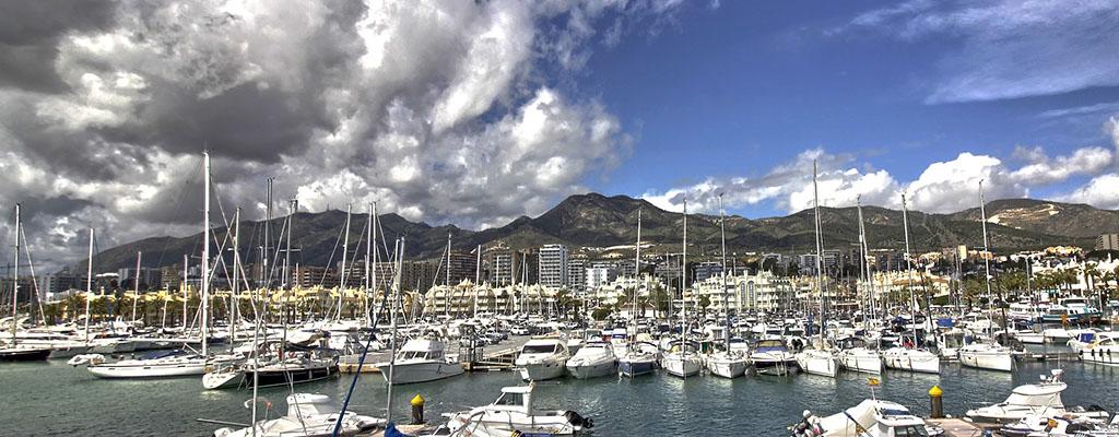 Alquiler de hinchables en el puerto deportivo de Benalmádena Puerto Marina
