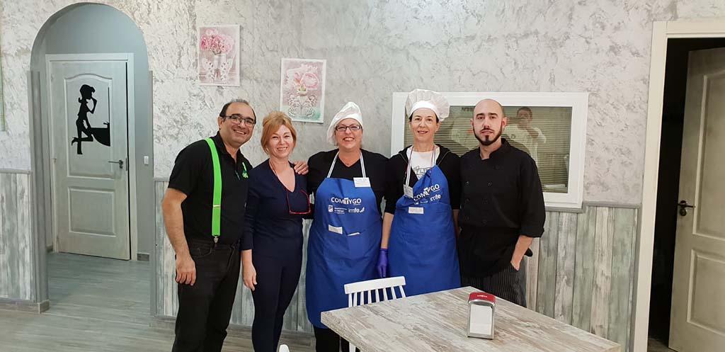 Personal y equipo de trabajo del restaurante