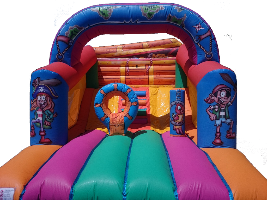 Bouncy castle pirate galleon for rent